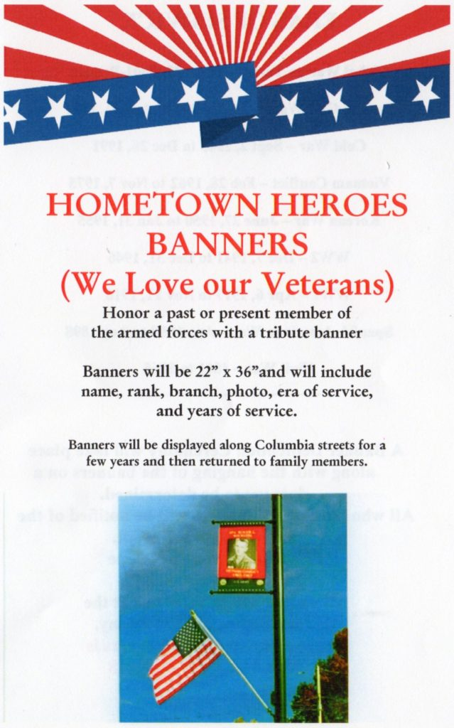 American Legion Post 581 Hometown Heroes banners