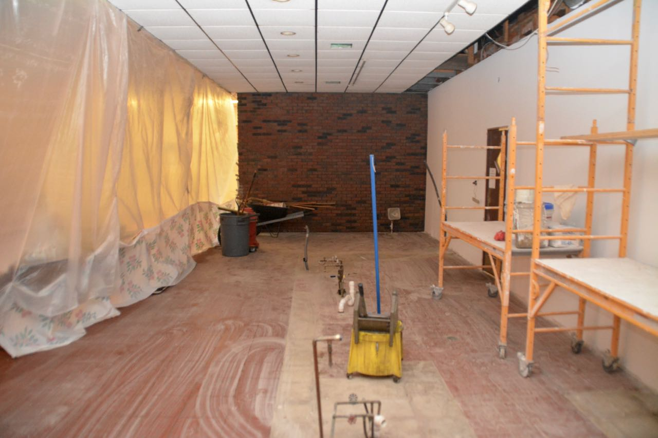 Lounge Remodeling Day Four American Legion Post 581